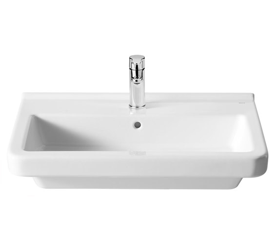 Alternate image of Roca Dama N Vitreous China Wall-Hung Basin With 1 Tap Hole