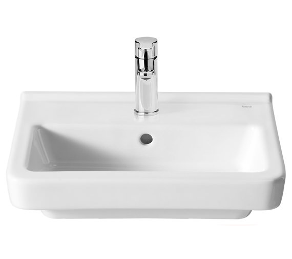 Alternate image of Roca Dama-N Compact Wall Hung Basin With 1 Tap Hole