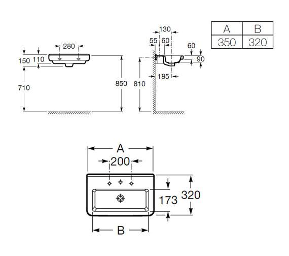Technical drawing QS-V25274 / 32778B000