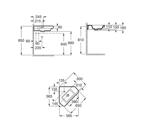 Technical drawing QS-V25279 / 32778C000