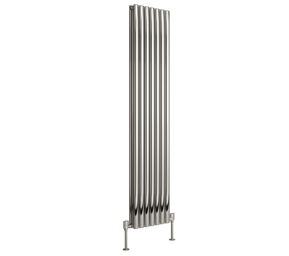 Additional image of DQ Heating Cove 1800mm High Stainless Steel Double Vertical Radiator