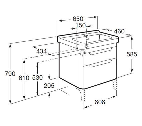 Technical drawing QS-V25288 / 856613150