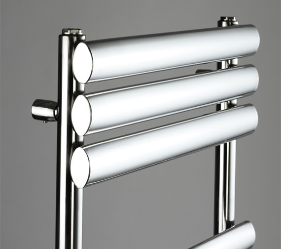 Additional image of DQ Heating Cove STR 500 x 1120mm Polished Stainless Steel Towel Rail
