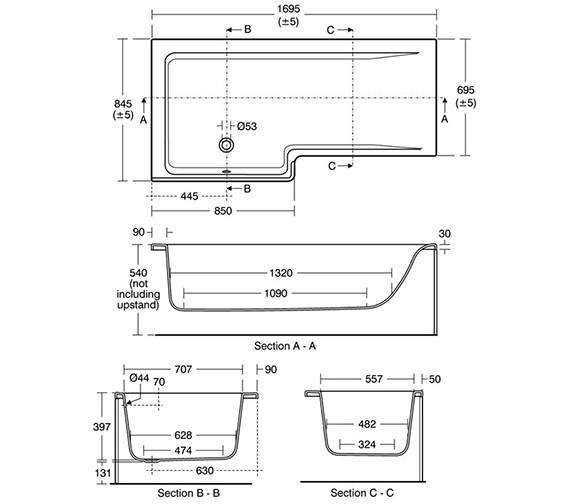 Technical drawing QS-V26682 / E051201