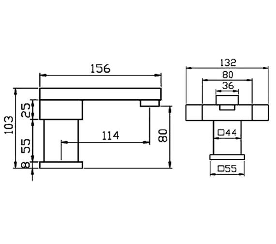 Technical drawing QS-V30092 / BLX009