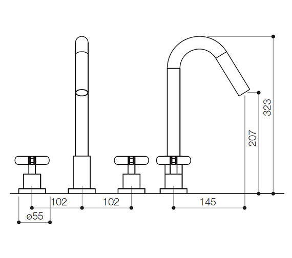 Technical drawing QS-V30888 / LOL015