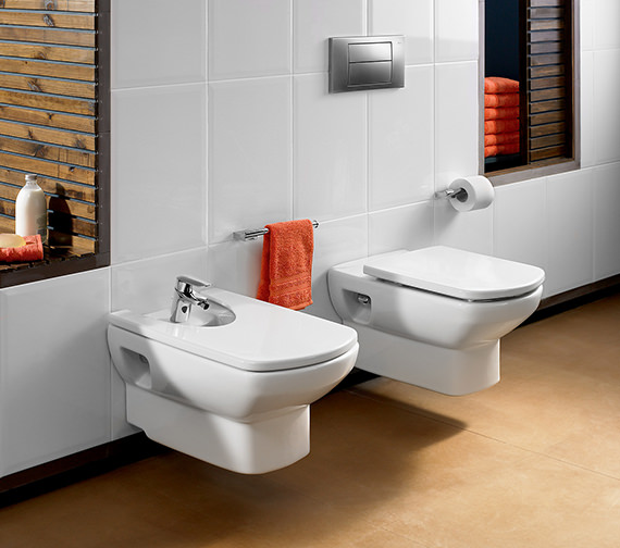 Roca Senso Wall Hung WC Pan 555mm - 346517000