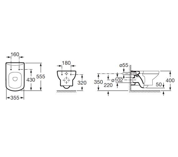 Technical drawing QS-V56720 / 346517000