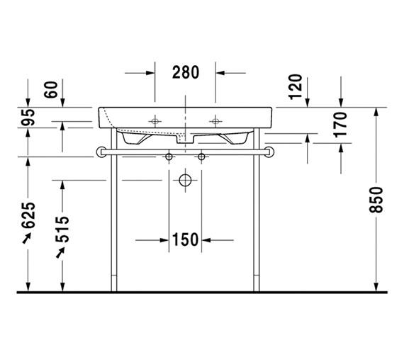 Technical drawing QS-V81907 / 2318600000