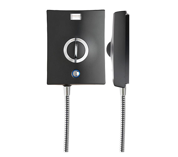 Alternate image of Aqualisa Quartz 9.5 KW Electric Shower Graphite And Chrome - QZE9511