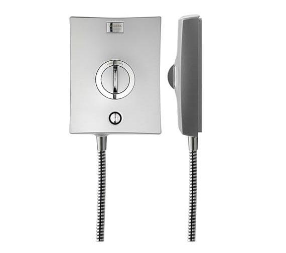 Alternate image of Aqualisa Quartz 8.5 KW Electric Shower Chrome - QZE8501