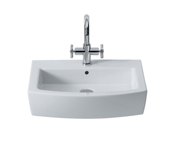 Roca Hall Wall Mounted Basin With 1 Tap Hole - 327621000