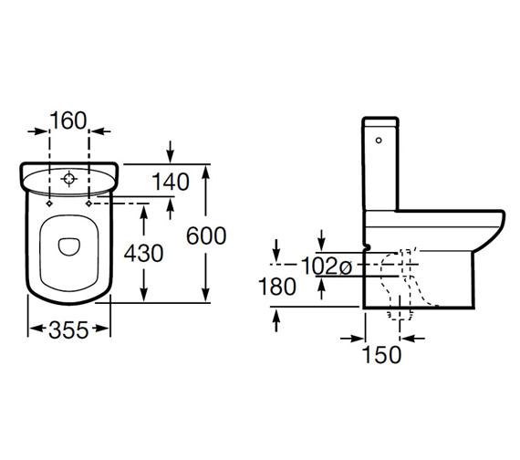 Technical drawing QS-V56735 / 34251S000