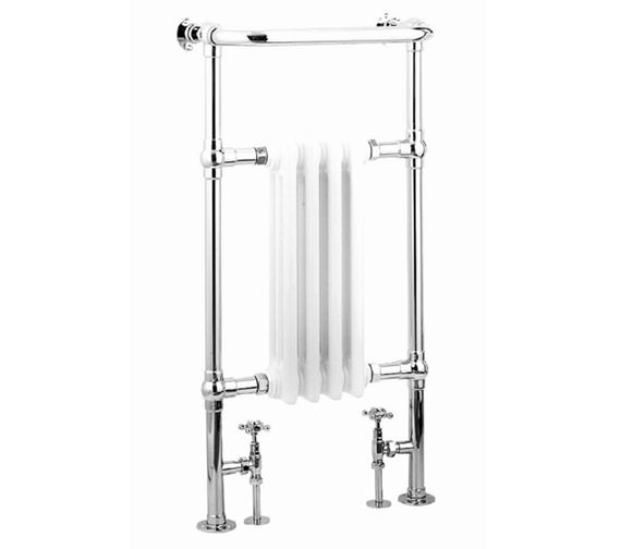 Reina Alicia Traditional Radiator 479 x 952mm Chrome - RND-ALC01