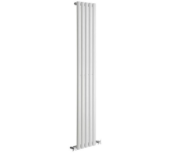 Alternate image of Reina Neva Single Panel Vertical Radiator 295 x 1500mm Anthracite