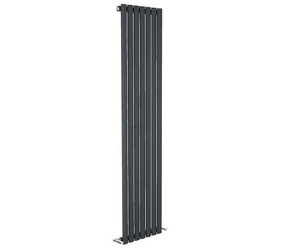 Reina Neva Single Panel Vertical Radiator 295 x 1800mm Anthracite