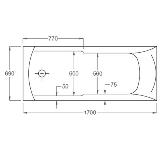 Technical drawing QS-V19257 / 024732000
