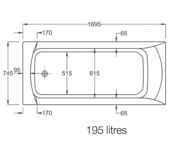Technical drawing QS-V19254 / 123501000