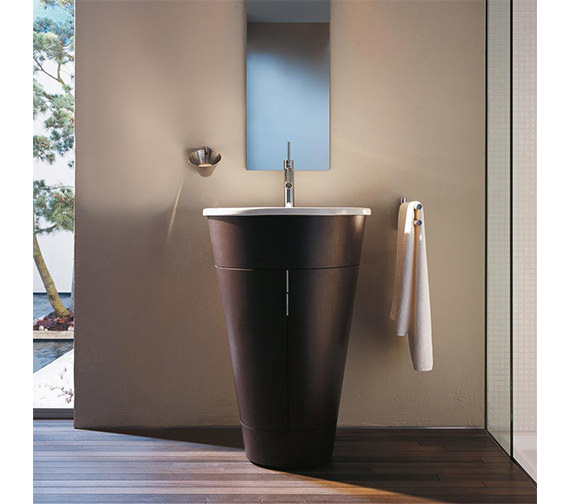 Duravit Starck Floorstanding 560mm Vanity Unit And 580mm Basin