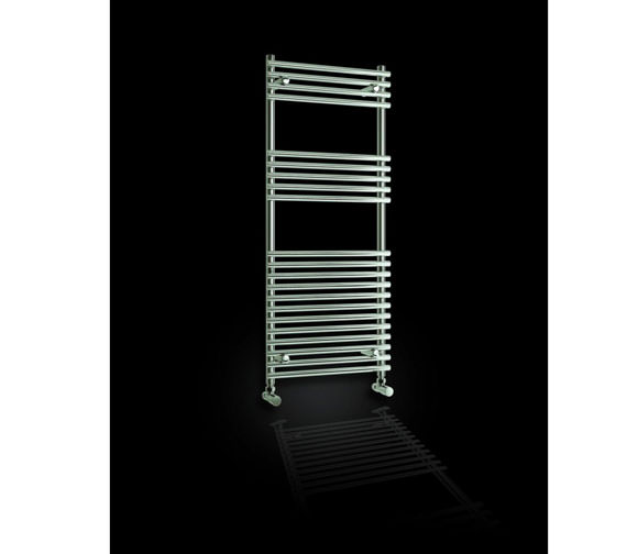Alternate image of Reina Pavia Designer Radiator 500 x 800mm Chrome Finish - RND-PV5080