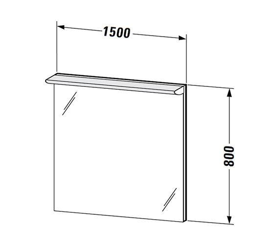 Technical drawing QS-V59319 / DN726500000
