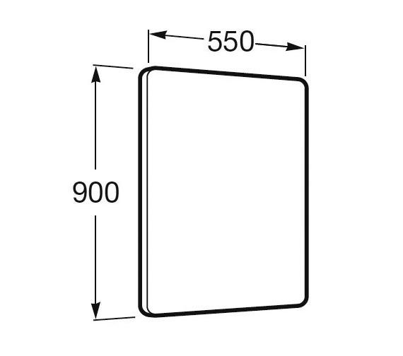 Technical drawing QS-V25296 / 812234000
