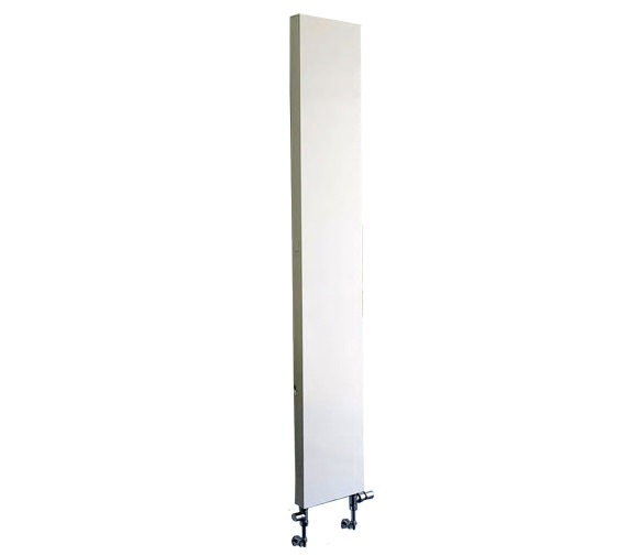 Apollo Milano Vertical Plan Radiator White 400 x 1800mm - VP18H400