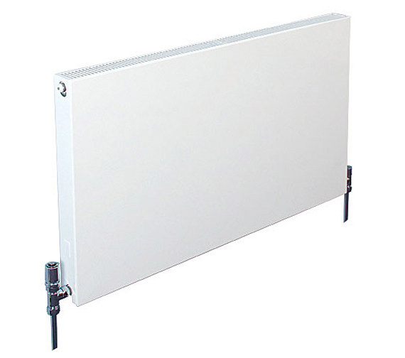 Apollo Milano White Horizontal Plan Radiator 800 x 600mm - HP6H800
