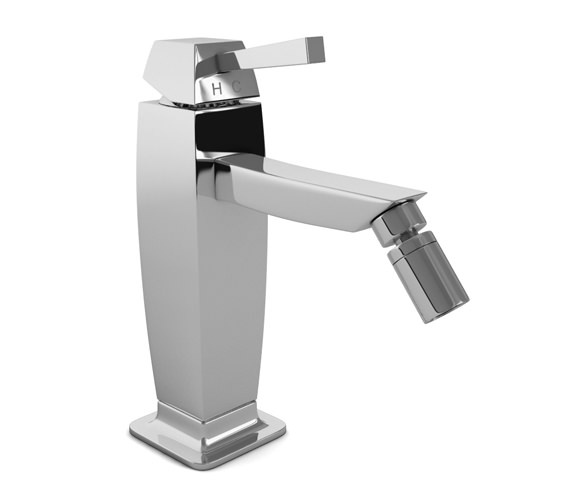 Abode Decadence Single Lever Bidet Mixer Tap With Pop-UP Waste