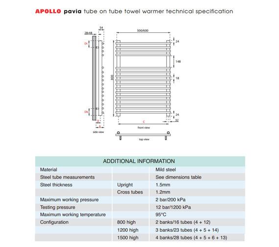 Technical drawing QS-V35592 / TOTW5W1200