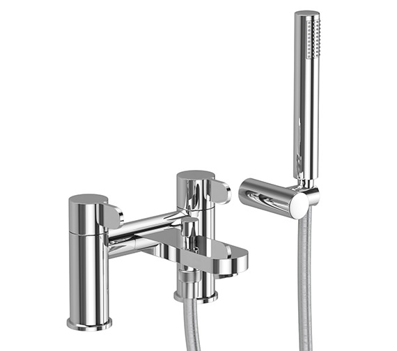 Abode Bliss Deck Mounted Bath Shower Mixer Tap With Handset - AB1458