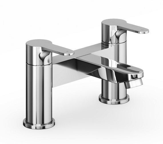 Abode Debut Deck Mounted Bath Filler Tap Chrome - AB1556