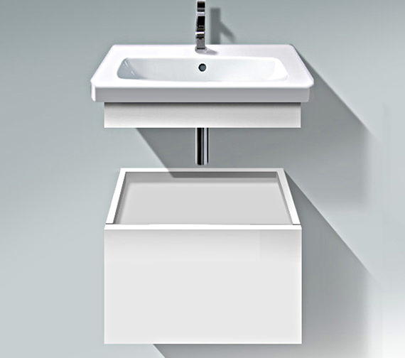 Duravit DuraStyle 580mm Low Cabinet With Trim And Basin - DS 6280