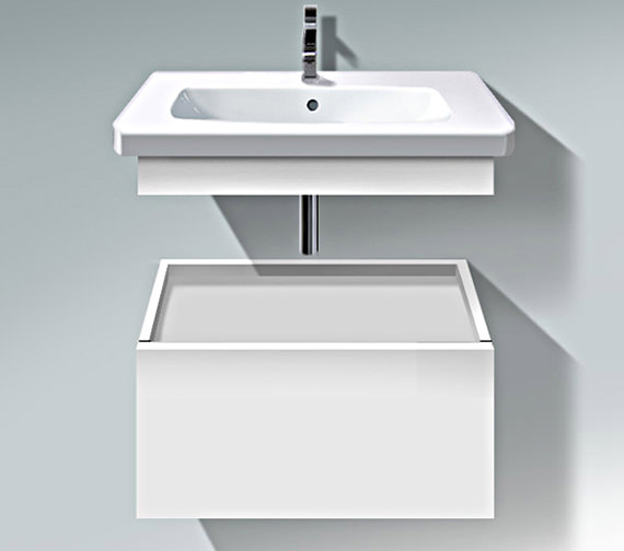 Duravit DuraStyle 730mm Low Cabinet With Trim And Basin - DS 6281