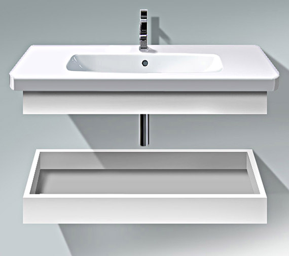 Duravit DuraStyle 1130mm Shelf With Trim And Basin - DS618301818