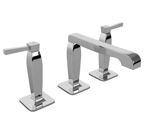 Abode Decadence 3 Part Basin Filler Tap With Pop-Up Waste - AB1303
