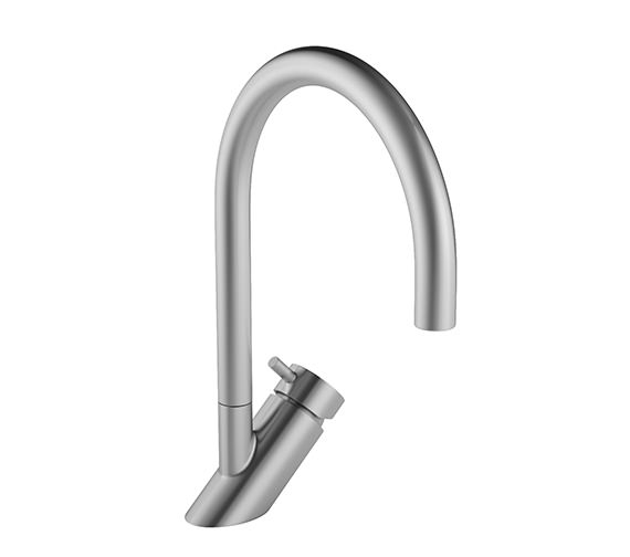 Abode Diagon Stainless Steel Single Lever Tap - AT1105