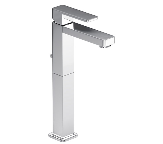 Abode Fervour Tall Basin Single Lever Tap With Pop-up Waste - AB1242