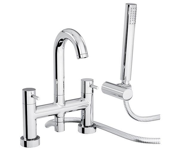 Abode Harmonie Deck Mounted Bath Shower Mixer Tap - AB1186