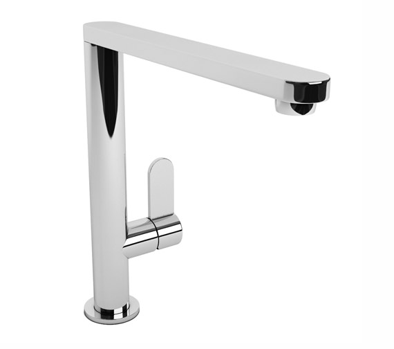 Abode Linear Chrome Single Lever Kitchen Mixer Tap