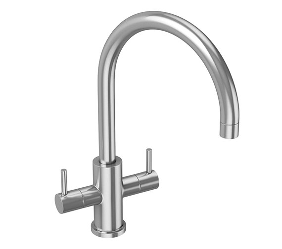 Abode Novar Monobloc Stainless Steel Kitchen Mixer Tap