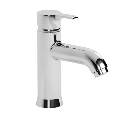 Abode Passion Single Lever Basin Mixer Tap Without Pop-up Waste