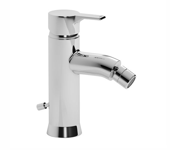 Abode Passion Single Lever Bidet Mixer Tap with Pop-up Waste - AB1160