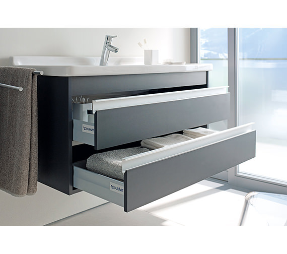 Duravit Ketho 450mm 2 Drawers Unit With Vero 500mm Basin
