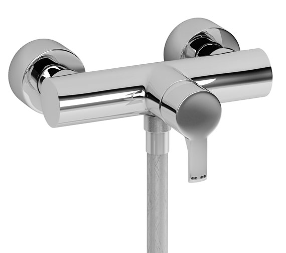 Abode Passion Wall Mounted Exposed Shower Mixer Tap - AB1164