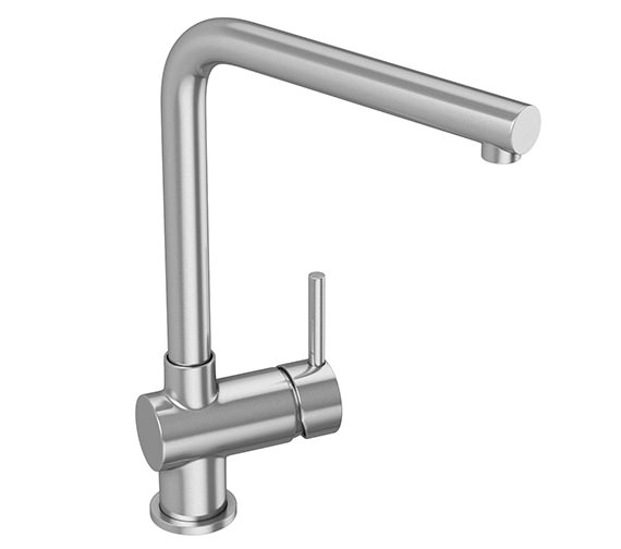 Abode Quala Single Lever Stainless Steel Kitchen Tap