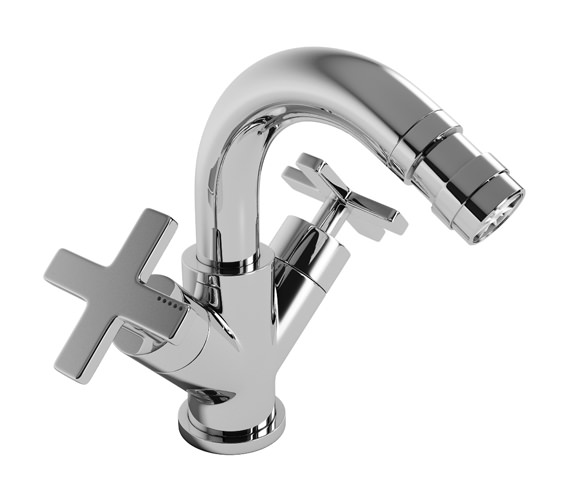 Abode Serenitie Bidet Mixer Tap With Pop Up Waste - AB1071