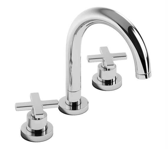 Abode Serenitie Thermostatic 3TH Bath Mixer Tap - AB3003