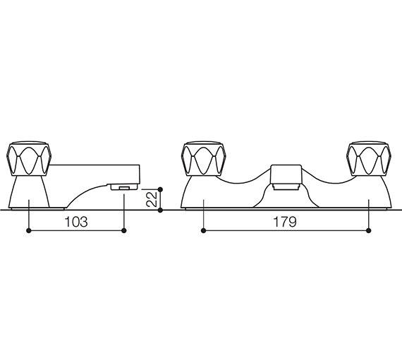 Technical drawing QS-V31134 / AL009