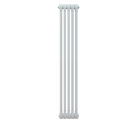 Alternate image of Apollo Monza White Vertical 3 Column Radiator 500 x 1270mm